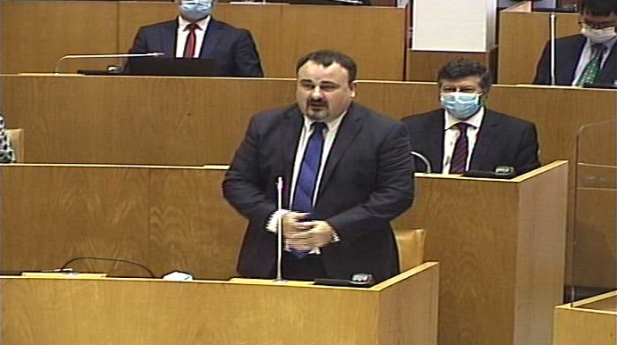 Sessão de perguntas ao Governo Regional com resposta oral