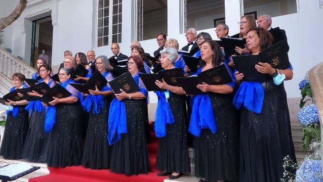 Comemorações dos 45 anos de Autonomia - Sessão Recreativa Histórico-Cultural - Receção aos convidados – Grupo Coral da Horta