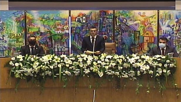 Discurso do Presidente da ALRAA, Luís Garcia, na cerimónia de Tomada de posse do XIII Governo da Região Autónoma dos Açores