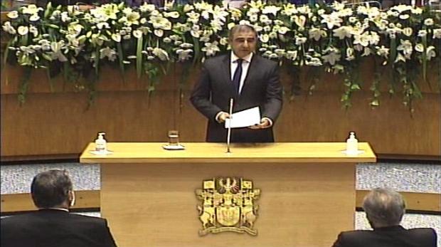 Discurso do Presidente do Governo da RAA, José Bolieiro, na cerimónia de Tomada de posse do XIII Governo da Região Autónoma dos Açores