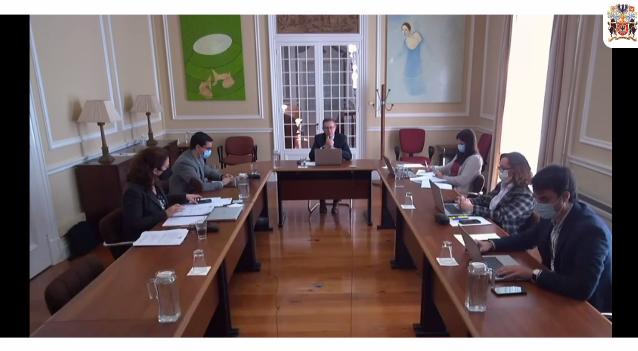Aprovação do Regulamento da Comissão e constituição da Sub-Comissão.