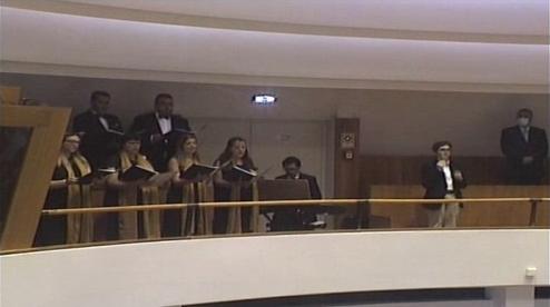 Encerramento da Sessão Solene Evocativa dos 45 anos da Autonomia dos Açores