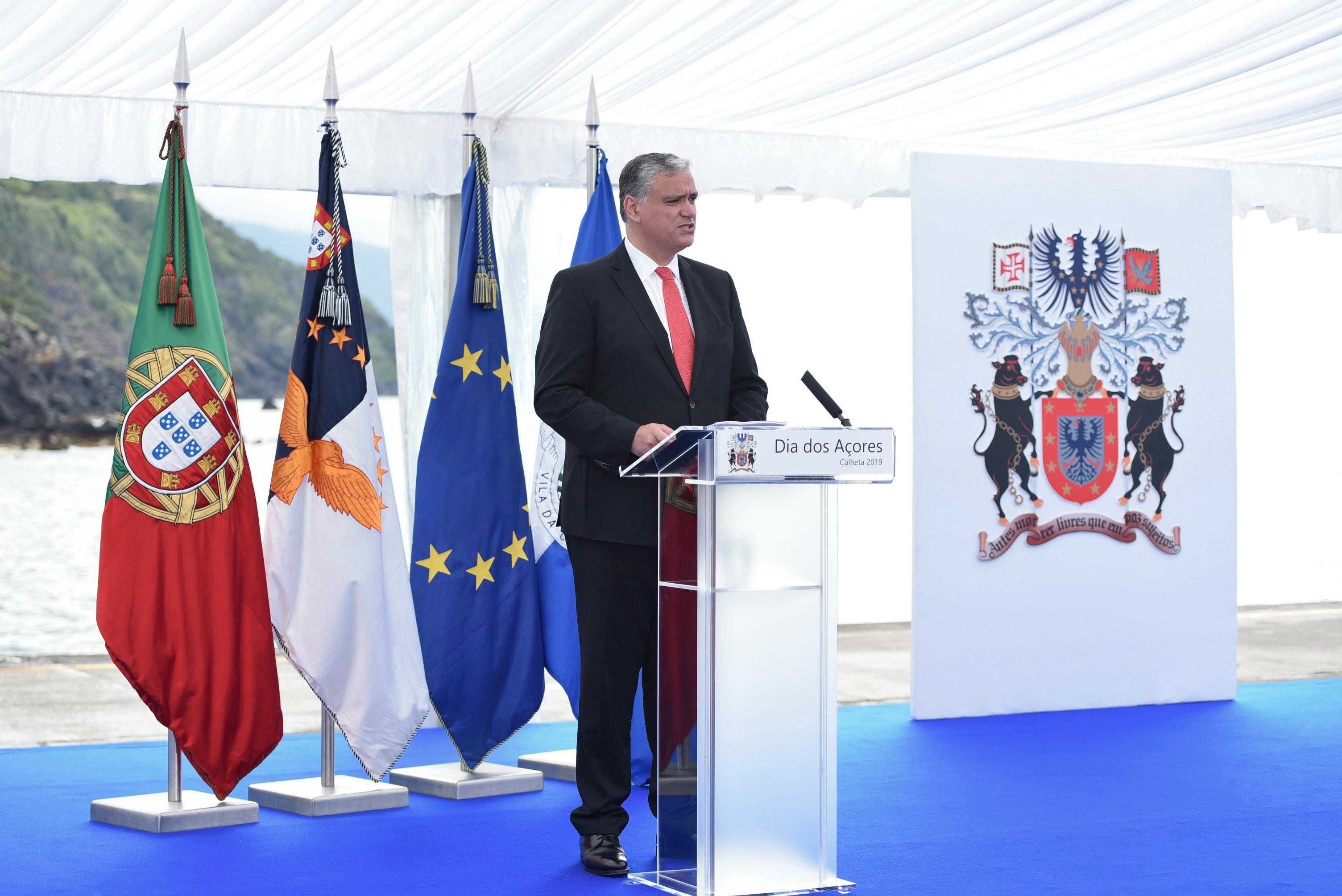 Dia da Região 2019 - Discurso de Sua Excelência o Presidente do Governo Regional dos Açores